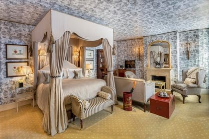 Bedroom | Carriage House Junior Suite + Carriage House Junior Suite | The Stafford London