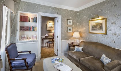 Living room | Junior Suite Main House  | The Stafford London