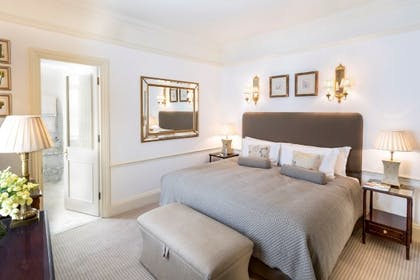 Bedroom | Master Suite Main House + Classic Queen | The Stafford London