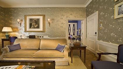 Living room | Master Suite Main House + Classic Queen | The Stafford London