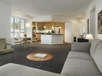 Kitchen | Two Bedroom Premium Suite | AKA Beverly Hills