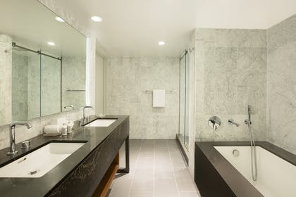 Bathroom | Andaz Suite Queens | Andaz West Hollywood
