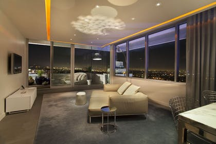Living Room | Penthouse Suite | Andaz West Hollywood