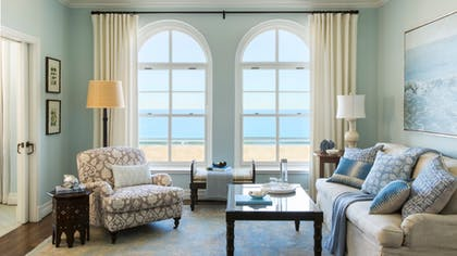 Living room | Ocean View Suite | Two Bedroom | Hotel Casa Del Mar