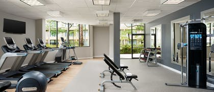 Workout Room | DoubleTree by Hilton Hotel Los Angeles - Westside