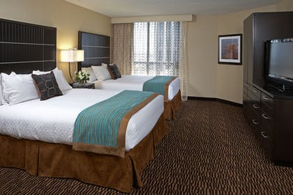2qeenbedLAn.jpg | 2 Queen Beds Nonsmoking  | Embassy Suites Los Angeles Intl Airport North