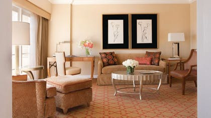 Living room | Hollywood Suite | Four Seasons Los Angeles at Beverly Hills