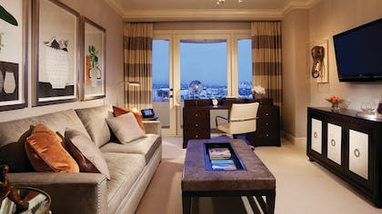 Living room | Presidential Suite East | Four Seasons Los Angeles at Beverly Hills