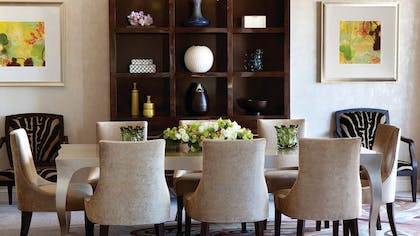 Dining room | Presidential Suite West | Four Seasons Los Angeles at Beverly Hills