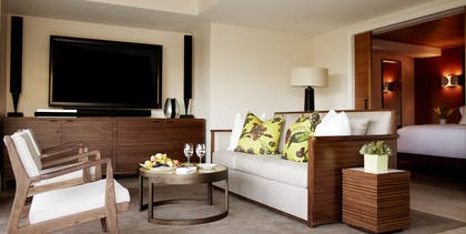 Living room | Premier Canyon Suite | Hotel Bel-Air