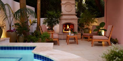 Pool | Stone Canyon Suite  | Hotel Bel-Air