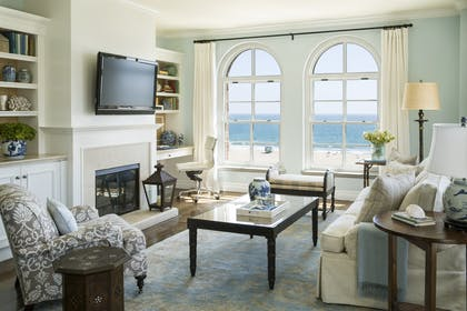 Living Area | Ocean View Suite | Two Bedroom | Hotel Casa Del Mar