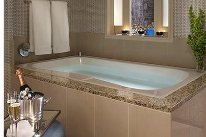 Bathroom | Premier Spa Suite with 1 King Bed | Kimpton Hotel Palomar Los Angeles Beverly Hills