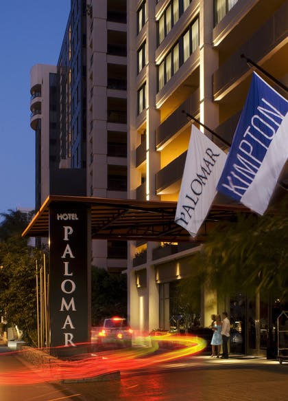 Hotel Exterior | Kimpton Hotel Palomar Los Angeles Beverly Hills