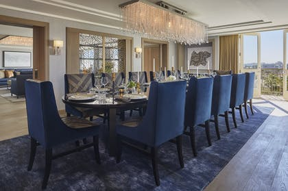 Dining Room | Presidential Suite | L'Ermitage Beverly Hills