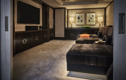 Media Room | Presidential Suite | L'Ermitage Beverly Hills