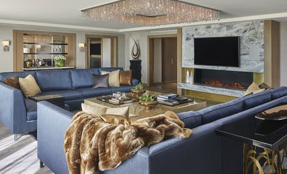 Living Room | Presidential Suite | L'Ermitage Beverly Hills