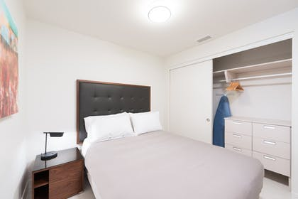 Second bedroom | Deluxe Three Bedroom Suite | LEVEL Furnished Living Suites