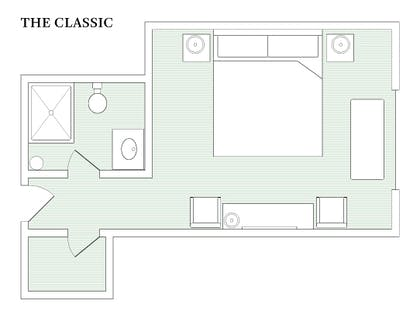 Floorplan | The Classic | Palihouse Santa Monica