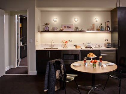 Kitchen | Corner King Suite | Palihouse West Hollywood