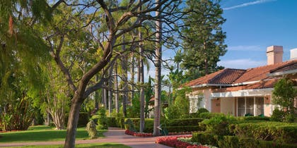 Outside | Presidential Bungalow | The Beverly Hills Hotel
