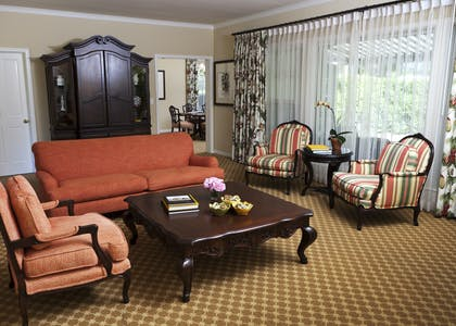 Living Room | Two Bedroom Ford Cottage Suite | The Langham Huntington, Pasadena