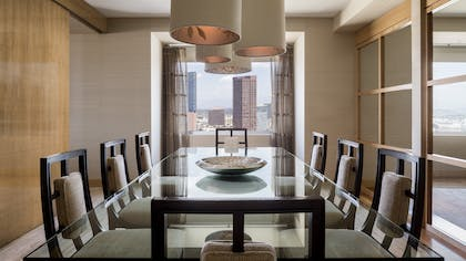 Dining room | The Ritz-Carlton Suite | The Ritz-Carlton, Los Angeles