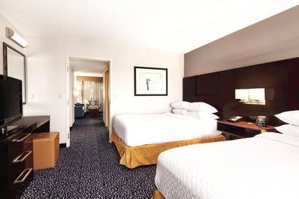 Two Doubles Accessible Bedroom | 2 Room Suite-1 King Bed-Non-smoking + 2 Room Suite-2 Double Beds-Non-smoking-ADA Accessible | Embassy Suites by Hilton Louisville East