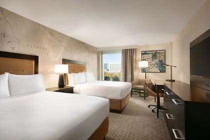 2 Queen Beds | 1 King Bed Junior Suite | Doubletree by Hilton McLean Tysons