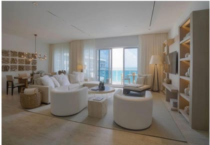 Living area | Five Bedroom Ultra Penthouse | 1 Hotel South Beach