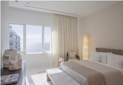 Bedroom | Two Bedroom Ocean View Penthouse with Balcony | 1 Hotel South Beach