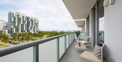 Balcony | Luxury Two-Bedroom Suite | Boulan South Beach
