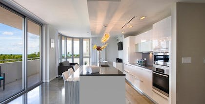 Kitchen | Luxury Two-Bedroom Suite | Boulan South Beach