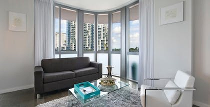 Living Room | Luxury Two-Bedroom Suite | Boulan South Beach