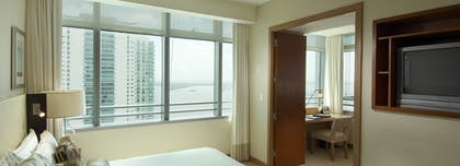 Bedroom 2 | Bay View 1 Bedroom Condo with 1 King Bed | Conrad Miami