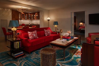 Living Area | Bay View Two-Bedroom Suite | Faena Hotel Miami Beach