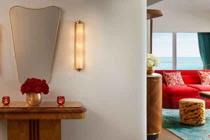 Room | Premier Oceanfront Corner Junior Suite | Faena Hotel Miami Beach