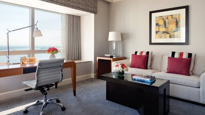 Living Room View | Executive Suite Bay View | Four Seasons Hotel Miami