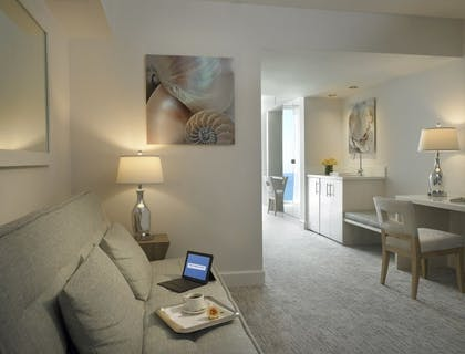 Living Room. | 2 Bedrooms Bayfront Suite | Grand Beach Hotel Miami