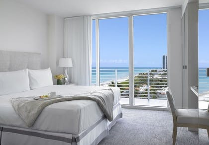 King.Bed. | King Ocean View Suite | Grand Beach Hotel Miami