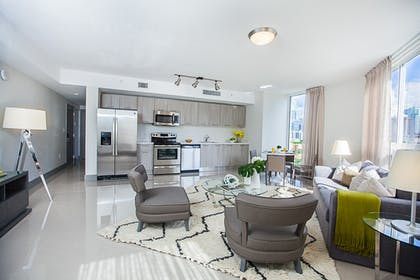 Kitchen | Living Room | Double Bedroom Apartment | Tower 2 | Habitat Residence Condo Hotel