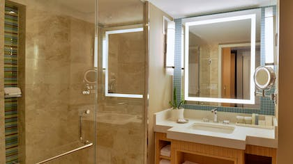 Bathroom | Ocean Front King Suite with Balcony | Loews Miami Beach Hotel