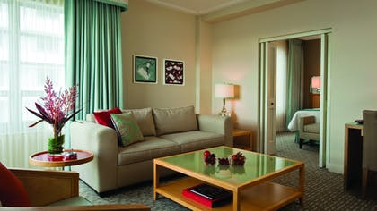 Living Room | St. Moritz City View Suite | Loews Miami Beach Hotel