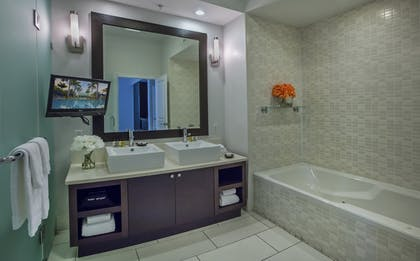 Bathroom | Blue Double Studio Suite | Provident Doral at The Blue Miami