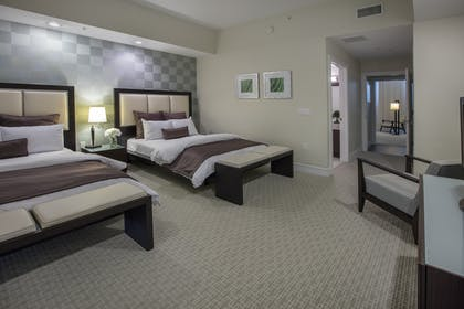 Bedroom | Deluxe Bedroom Double Suite | Provident Doral at The Blue Miami
