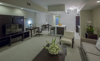 Livingroom | Deluxe Bedroom Double Suite | Provident Doral at The Blue Miami