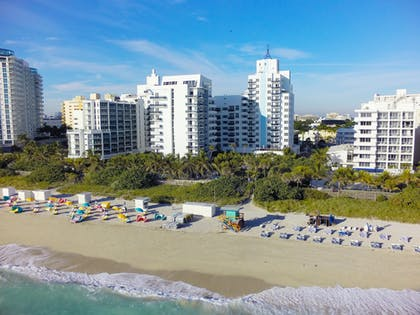 Aerial View of Hotel | The Confidante Miami Beach