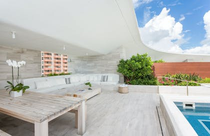 Spacious Terrace | Bungalow Penthouse | The Miami Beach EDITION
