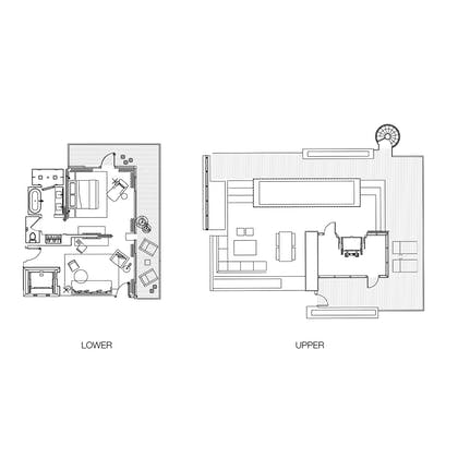 Floorplan | Bungalow Penthouse | The Miami Beach EDITION