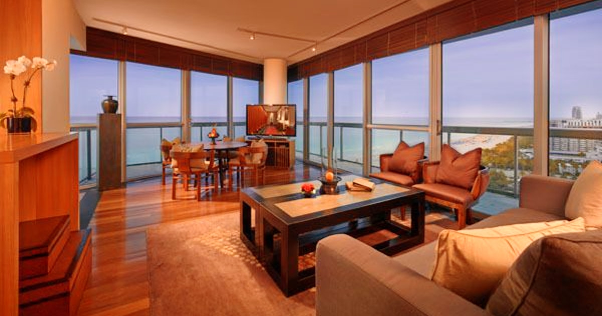 Two bedroom suite two bedroom suite at the setai miami - 2 bedroom hotel suites in miami south beach ...